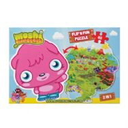 Moshi Monsters Flip N Fun 60 Piece 2 in 1 Jigsaw
